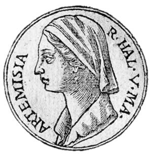 Artemisia of Caria, Xerxes' navy commander