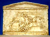Parthenon Frieze Horsemen Relief