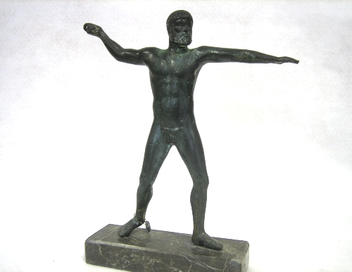 Statues busts ancient greek statues poseidon of artemision bronze size 1 - Poseidon statue greece ...