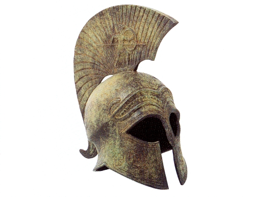 Armour & Weapons :: Small size helmets :: Spartan Helmet Real Ancient Spartan Weapons