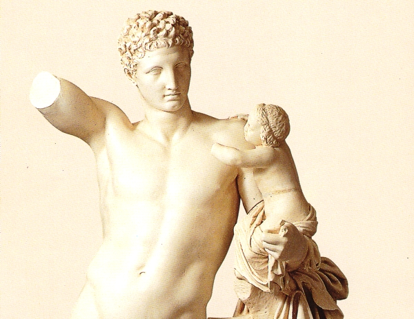 Statues & Busts :: Life Size statues :: Hermes of Praxiteles