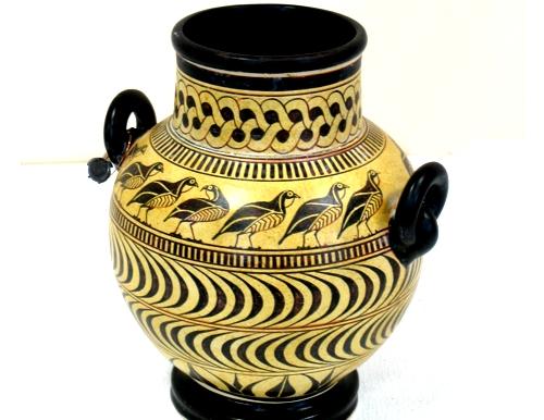 Greek Pottery Geometric Pottery Geometric Rhodian Vase