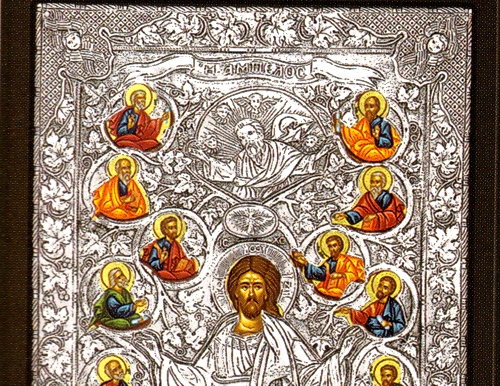 Greek Orthodox Icons Silver Icons Of Jesus Christ