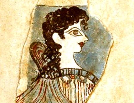 Statues Amp Busts Ancient Greek Wall Frescoes Minoan