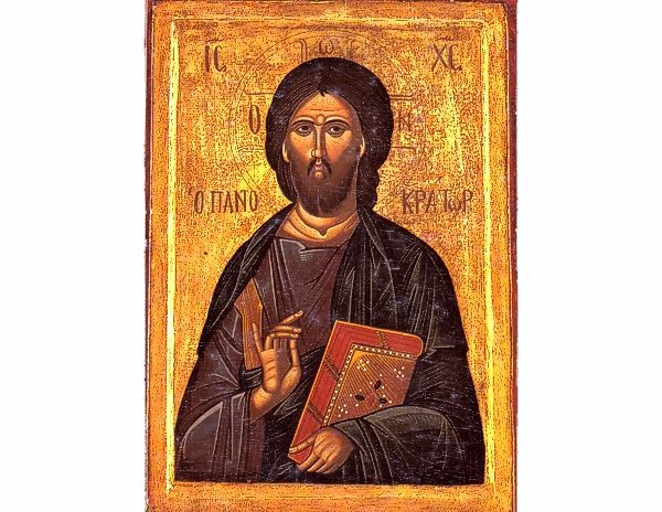 Greek Orthodox Icons Jesus Christ The Pantokrator