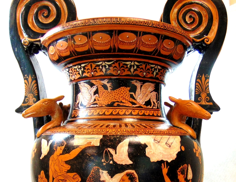 Greek Pottery Red Figured Pottery Red Figured