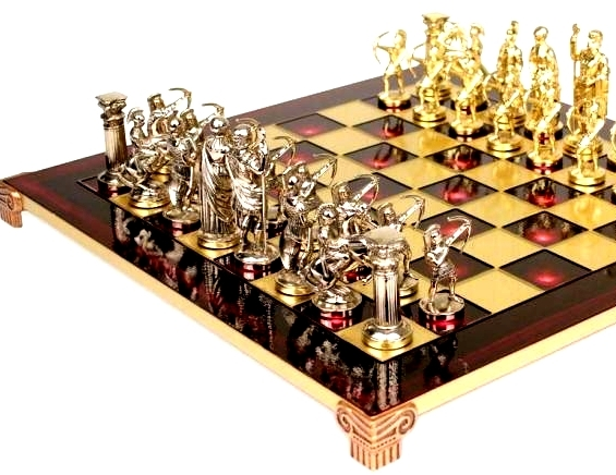 spartan archers chess set