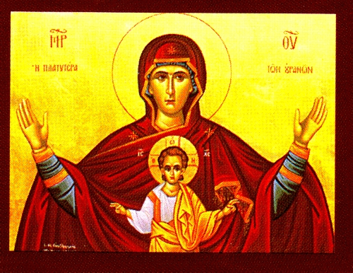 Greek Orthodox Icons :: Hand painted icons of Virgin Mary ...