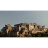 View of the Acropolis as seen from the Athenian Agora