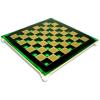 Green chessboard