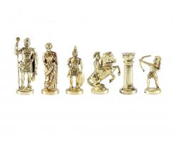 Gold chessmen