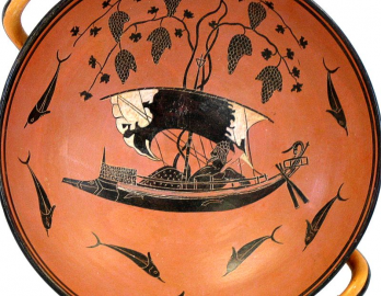 Black fugured kylix