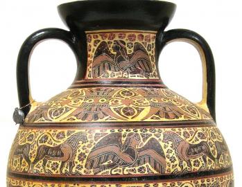 Corinthian style amphora