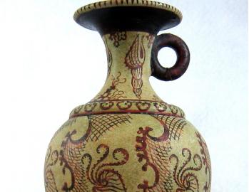 Minoan pseudostomos vase