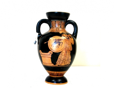 Red figured Amphora - Side A