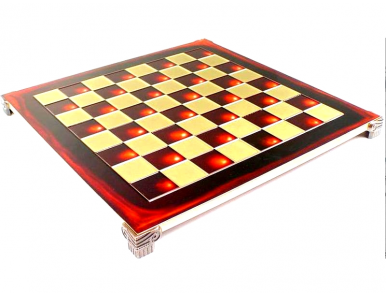 Red chessboard