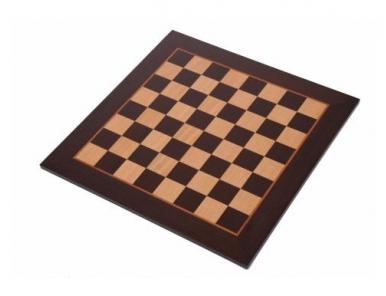 Wenge chessboard