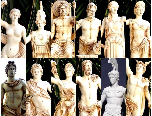 Statues & Busts :: The 12 Olympian Gods :: 12 Olympian Gods