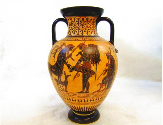 Olive Harvesters amphora - Side B