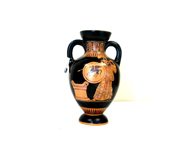Red figured Amphora - Side A