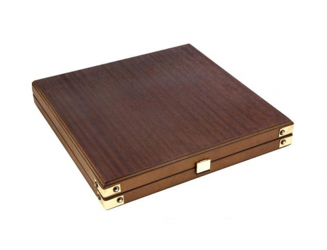 Wood chess set box