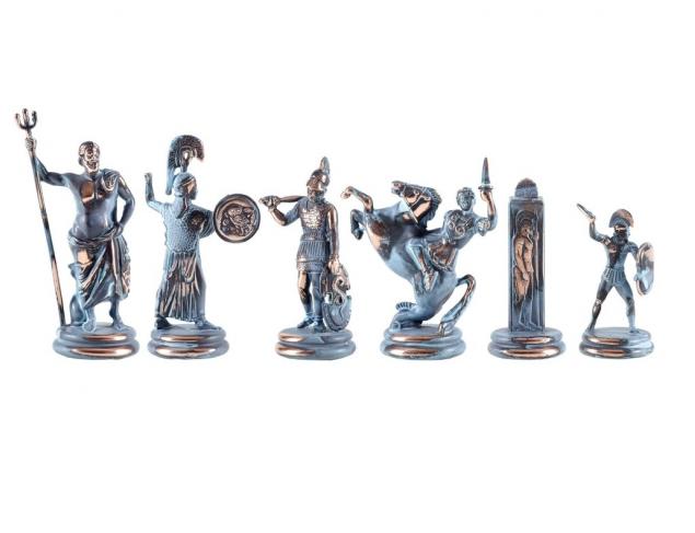 Archaic bronze chessmen