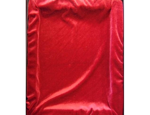 Gift box velvet interior