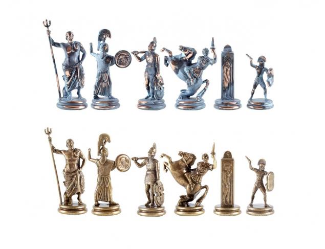 Blue chessboard