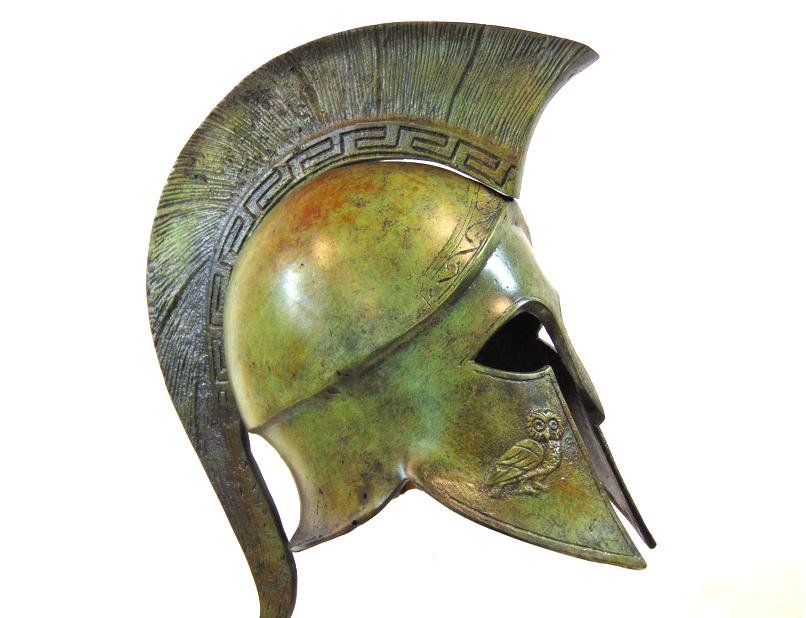 Image result for ancient greek helmet